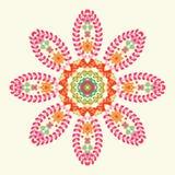 Ornamento redondo Imagen de archivo libre de regalías