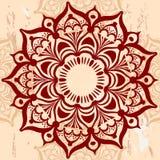 Ornamento redondo da mandala Fotos de Stock Royalty Free
