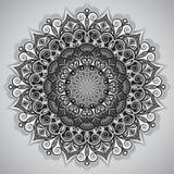Ornamento redondo de la flor Fotografía de archivo libre de regalías
