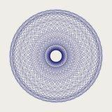 Ornamento redondo del cordón Foto de archivo libre de regalías