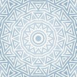 Ornamento redondo detalhado do estilo de Oriente Imagens de Stock