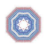 Ornamento redondo mexicano Imagen de archivo