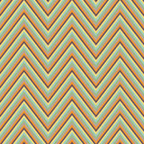 Ornamento retro sem emenda abstrato do ziguezague Imagens de Stock Royalty Free