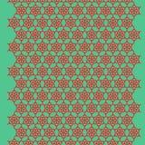 Ornamento rojo Imagen de archivo libre de regalías