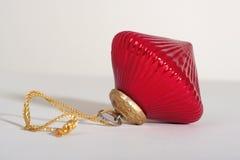 Ornamento rosso Immagine Stock