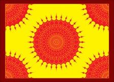 Ornamento rotondo orientale Fotografia Stock Libera da Diritti
