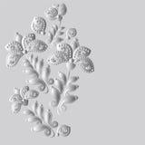 Ornamento ruso de la flor Ilustración del Vector