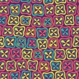 Ornamento sem emenda abstrato do teste padrão. ilustração royalty free