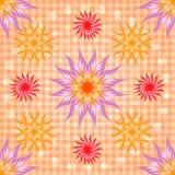 Ornamento sem emenda abstrato do teste padrão Fotografia de Stock Royalty Free