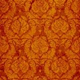 Ornamento sem emenda clássico no vermelho Fotografia de Stock Royalty Free