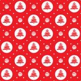 Ornamento sem emenda do feriado Imagem de Stock Royalty Free