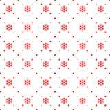 Ornamento sem emenda do Natal Imagens de Stock