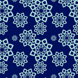 Ornamento sem emenda do teste padrão do vetor Textura luxuosa elegante para a matéria têxtil, as telas ou os fundos dos papéis de Fotos de Stock