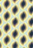 Ornamento sem emenda do teste padrão do vetor Textura luxuosa elegante para a matéria têxtil, as telas ou os fundos dos papéis de Imagem de Stock Royalty Free