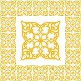 Ornamento sem emenda do vetor floral Fotografia de Stock Royalty Free