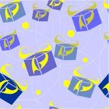 Ornamento sem emenda na cor 24 ilustração stock