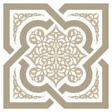 Ornamento senza cuciture arabo Immagini Stock