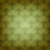 Ornamento senza cuciture d'annata del damasco. Immagine Stock Libera da Diritti