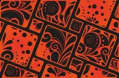 Ornamento senza cuciture geometrico astratto Fotografie Stock
