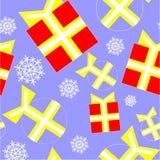 Ornamento senza giunte a colori 99 Fotografie Stock