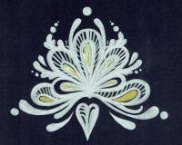 Ornamento sob a forma de uma coroa imagens de stock