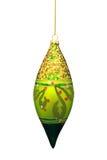 Ornamento Sparkly di natale Immagine Stock