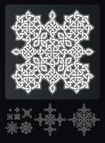 Ornamento spinoso di Vichingo illustrazione vettoriale