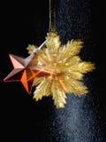 Ornamento Star-shaped do Natal imagens de stock royalty free