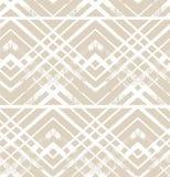 Ornamento a strisce geometrico Modello senza cuciture pastello di vettore struttura alla moda moderna Ornamento della decorazione Fotografia Stock