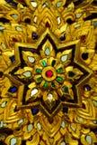 Ornamento tailandés del estilo Fotografía de archivo