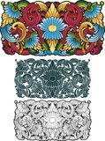 Ornamento tailandês Imagem de Stock