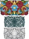 Ornamento tailandese Immagine Stock