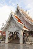 Ornamento tailandese di stile in tempio Immagini Stock Libere da Diritti