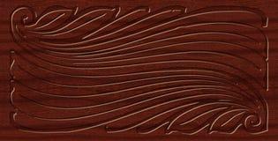 Ornamento tallado Imagenes de archivo