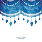 Ornamento texturizado tribal Imagen de archivo libre de regalías
