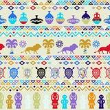 Ornamento étnico do teste padrão tribal africano Imagem de Stock