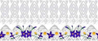 Ornamento tradicional americano del modelo inconsútil étnico del vector imagenes de archivo
