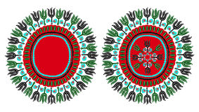 Ornamento tradicional del africano de Dashiki imagen de archivo libre de regalías