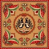 Ornamento tradicional do russo Fotografia de Stock Royalty Free