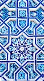 Ornamento tradicional do uzbek cerâmico Fotografia de Stock