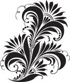 Ornamento tradicional Hohloma do russo Imagem de Stock Royalty Free