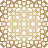 Ornamento tradicional islâmico Foto de Stock