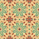 Ornamento tradicional oriental. Teste padrão sem emenda Imagens de Stock Royalty Free