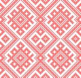 Ornamento tradicional sem emenda do russo e do slavic Imagem de Stock