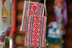 Ornamento tradizionale bielorusso Fotografia Stock Libera da Diritti