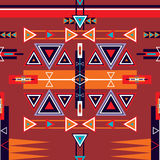 Ornamento tribal étnico inconsútil del modelo Fotos de archivo libres de regalías