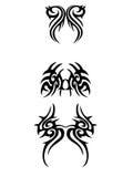 Ornamento tribal ilustração stock