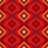 Ornamento tribal de Navajo Imágenes de archivo libres de regalías