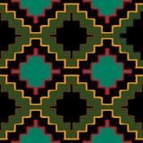 Ornamento tribal do navajo do vetor Imagem de Stock