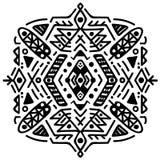 Ornamento tribal mexicano e asteca Vetor Imagens de Stock Royalty Free